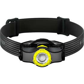 Led Lenser MH3 Faro Delantero, black/yellow